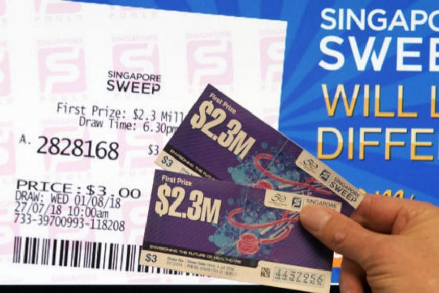 """Sweep tickets purchased at Singapore Pools outlets will be printed on demand and customers should use the 4-D bet slip or approach counter staff to choose via """"quick pick""""."""