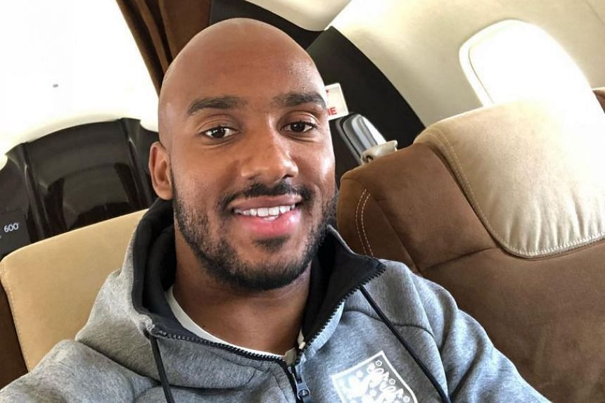 Delph posted a photo of himself on the way to Russia on his Instagram page.