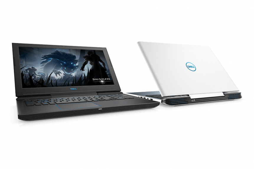 For those who want more gaming performance than the G3, the Dell G7 15 models (from $1,699) can be configured with an Intel six-core processor. PHOTO: DELL