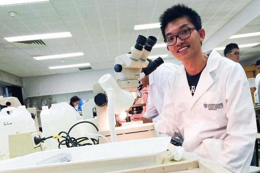Mr Chew finds the graduate diploma he is pursuing at JCU Singapore unique, flexible and exciting.