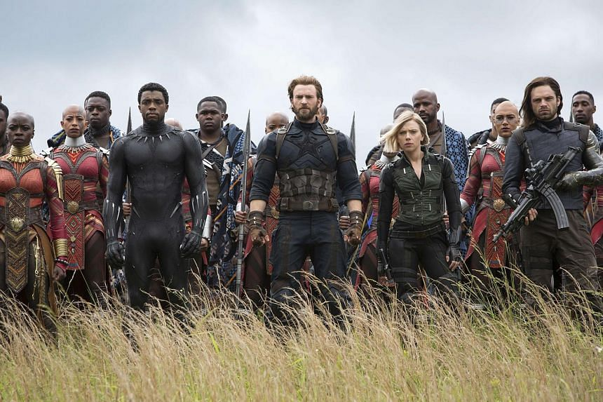 Cinema still of Avengers: Infinity War. Avengers 4 is set to shoot in New York and Atlanta from this summer and release next year.
