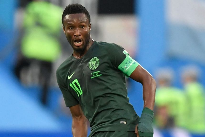 Nigeria captain John Obi Mikel was playing against Argentina with the cloud of his father's kidnapping over him.