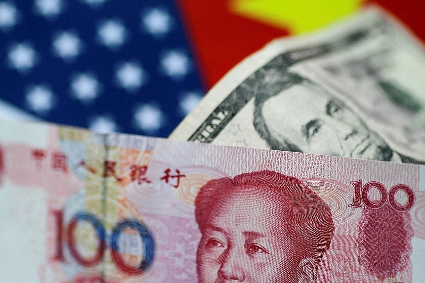 The yuan had its worst month on record in June, losing about 3.3 per cent of its value against the US dollar. The slide continued on Monday before the Chinese currency rebounded on Tuesday following reassuring remarks from China's central bank govern