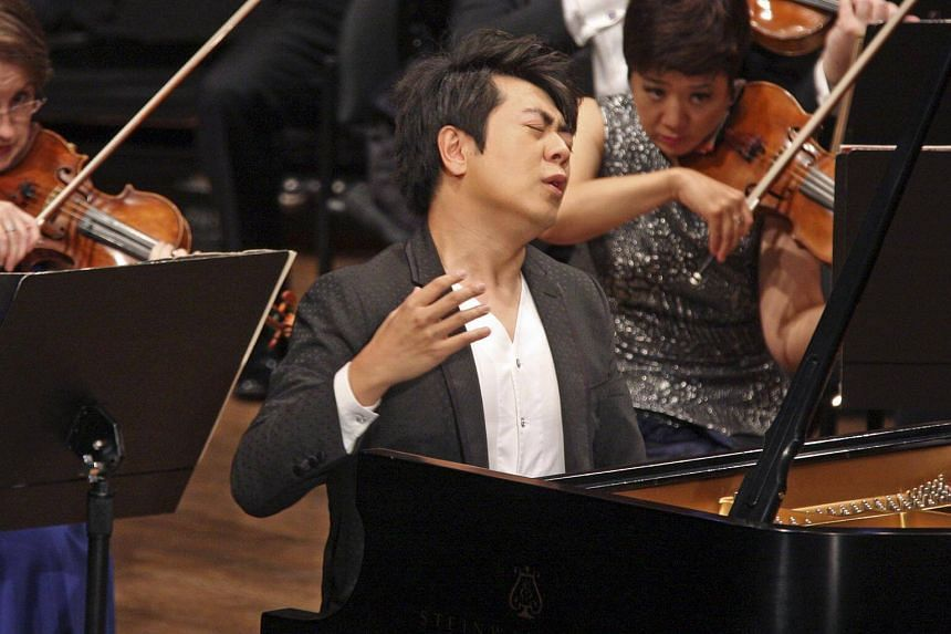 "Lang Lang said last year that he had injured his arm through what he described as ""a stupid practice of Ravel's left-hand concerto."""