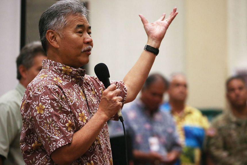 Hawaii Governor David Ige signed legislation that will ban the sale of sunscreens containing two chemicals believed to harm coral reefs.