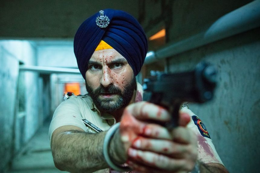 Sacred Games is anchored by Bollywood star Saif Ali Khan as a policeman with 25 days to head off a terrorist threat to Mumbai.