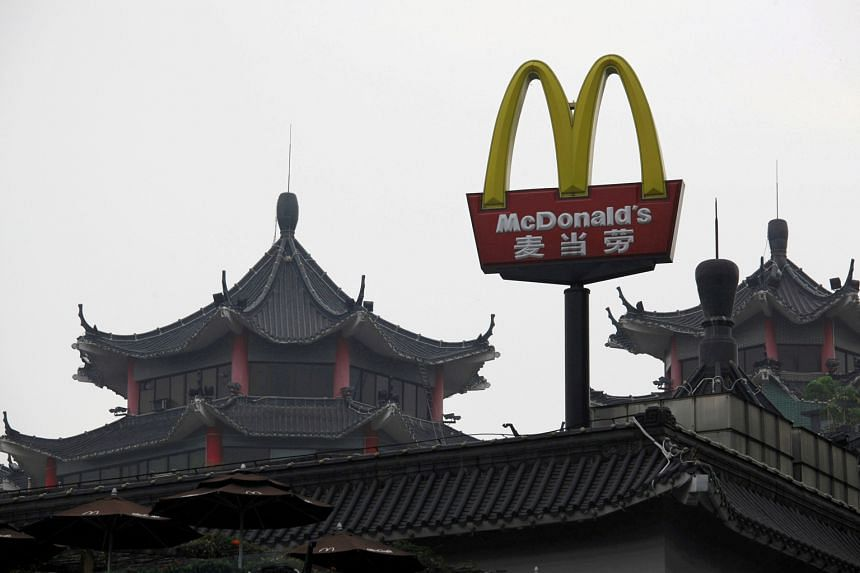 A McDonald's outlet in Shenzhen.