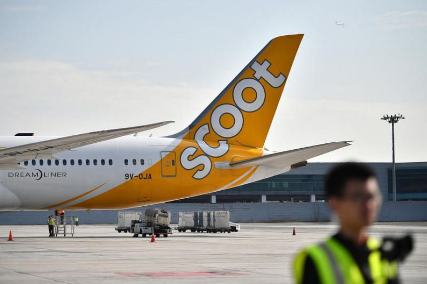 A total of 82 pieces of baggage were removed from the flight due to bad weather, which required the plane to carry more fuel reserves, said Scoot.