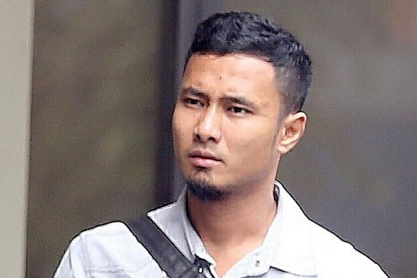 Muhammad Ruzaini Johari, 33, was sentenced to seven months' jail. He will begin serving his sentence on Aug 1 and is currently out on bail of $10,000.