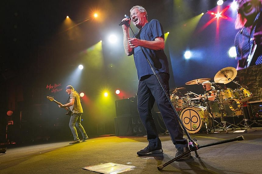 """If you are a Deep Purple fan, you will know their classic 1972 hit Smoke On The Water starts with """"We all came out to Montreux"""". The lyrics later describe a fire in a casino in the Swiss city. On Wednesday, the British rockers were a hot attraction a"""