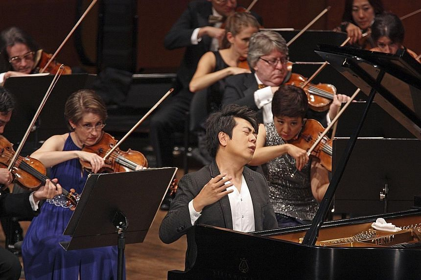 Lang Lang cancelled concerts last year because he injured his left arm.