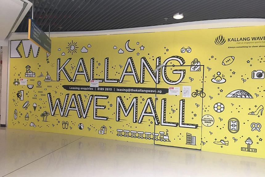 Tenants and shoppers say Kallang Wave Mall tends to be quiet. Mall manager SMRT Alpha says it is bringing in new tenants. NTUC Foodfare reduced the number of stalls in the foodcourt in 2016, even as stallholders complained of poor traffic. Saint Game