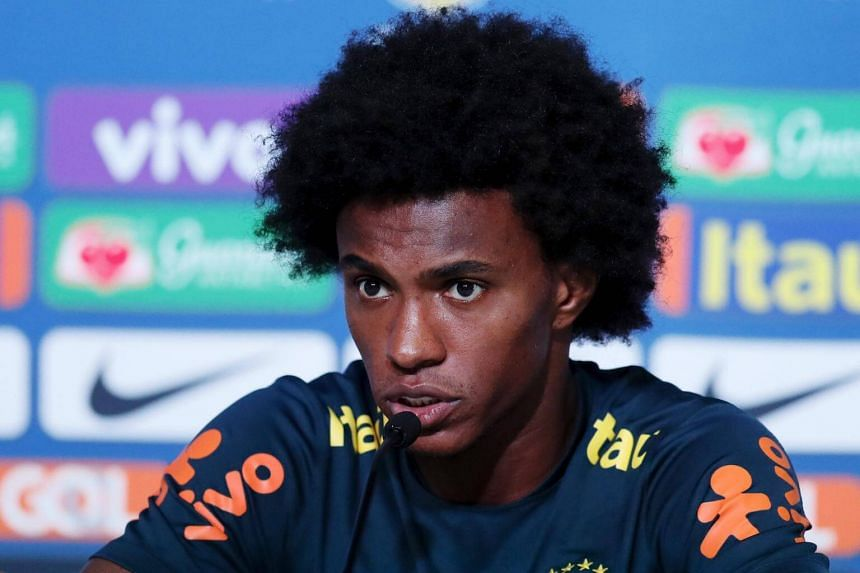 While Brazil's Willian respects Belgium's quality, he will be doing everything he can to send his rivals home early from Russia.