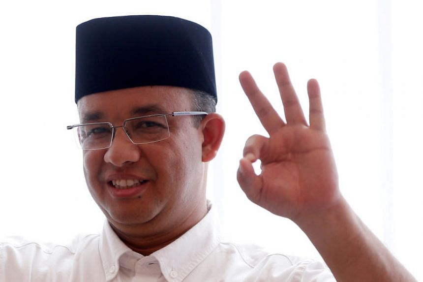 Jakarta governor Anies Baswedan has denied any association with this latest group of volunteers and has also remained coy when asked to comment on rumours that he will be contesting as an opposition candidate.
