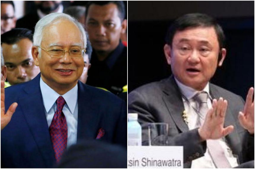 Former prime ministers - Thailand's Thaksin Shinawatra and Malaysia's Najib Razak - are embroiled in corruption scandals.