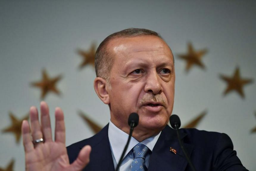 Muslim cleric Fethullah Gulen has been accused of ordering the attempted overthrow of President Recep Tayyip Erdogan (above) on July 15, 2016.