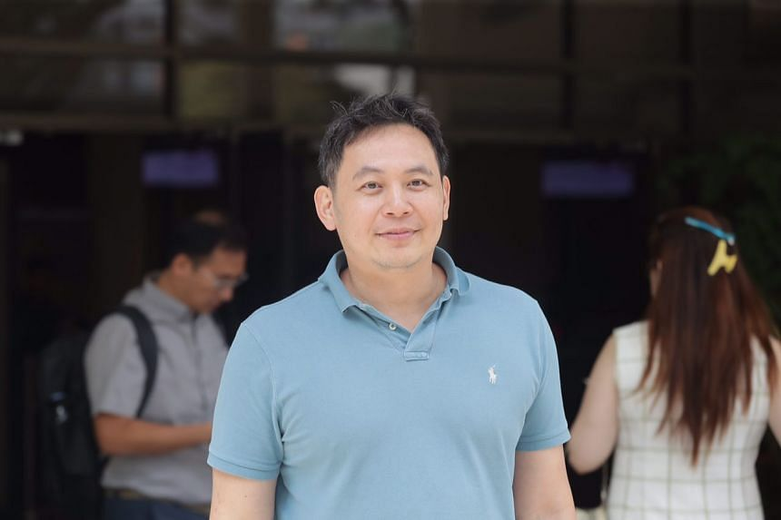 Kelvin Liu Chin Chan (above) was accused of sending public servant Desmond Tay harassing messages and photographs intended to belittle and cause distress to him.
