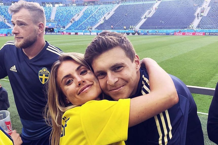 """HOT SHOT """"David de Gea pressed 'like' on my interview video uploaded by Daegu FC on Facebook. It was such an honour."""" South Korea 'keeper Jo Hyeon-woo gushing after his Spanish counterpart noticed him online. SWEET TWEET Maja Nilsson Lindelof, wife o"""
