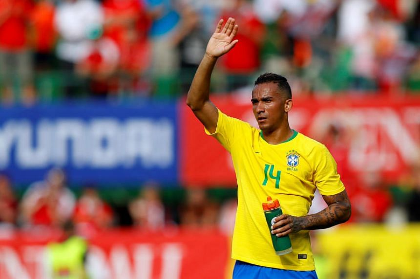 Brazil's Danilo after the match between Austria and Brazil at Ernst-Happel-Stadion, Vienna, Austria, on June 10, 2018.