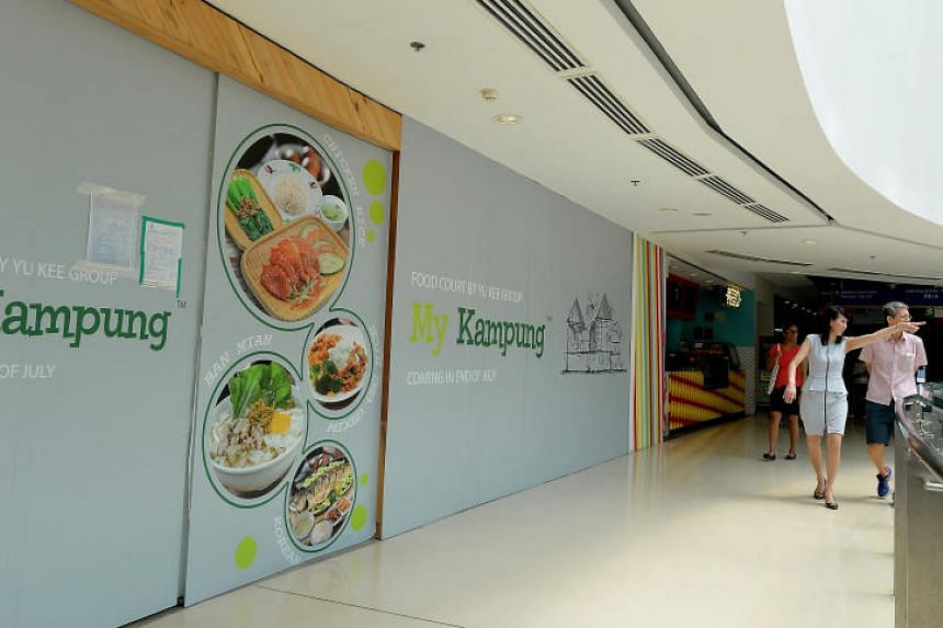 My Kampung food outlet is set to open by the end of the month.
