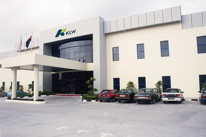 KLW reclassified certain items in its financial statements for the financial year ended March 31, including the reclassification of land held for development from a non-current asset to a current asset.