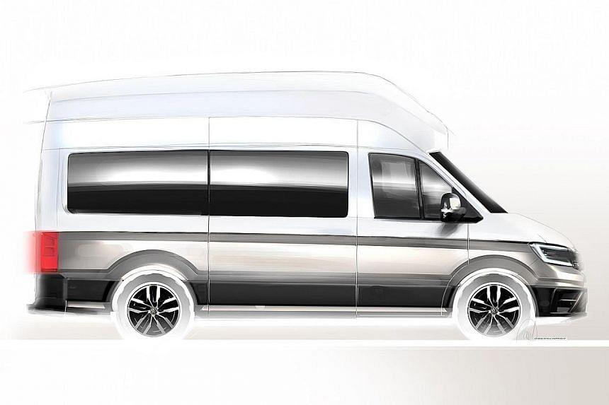 Massive Volkswagen camper van on the cards