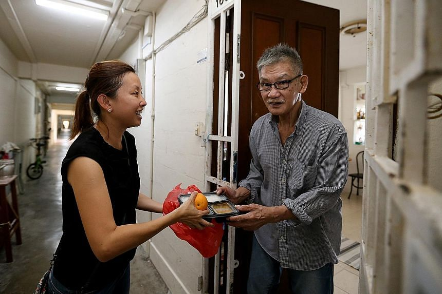 """Kampung Admiralty, Singapore's first """"retirement kampung"""", houses an active-ageing hub that provides programmes for healthy seniors as well as rehabilitation care for those who are more frail."""