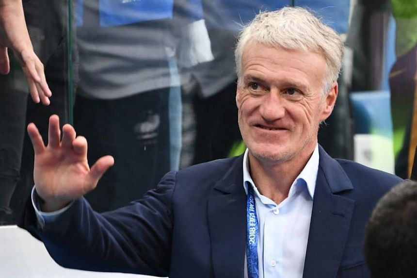 "Didier Deschamps said the team has ""a lot more potential to show""."
