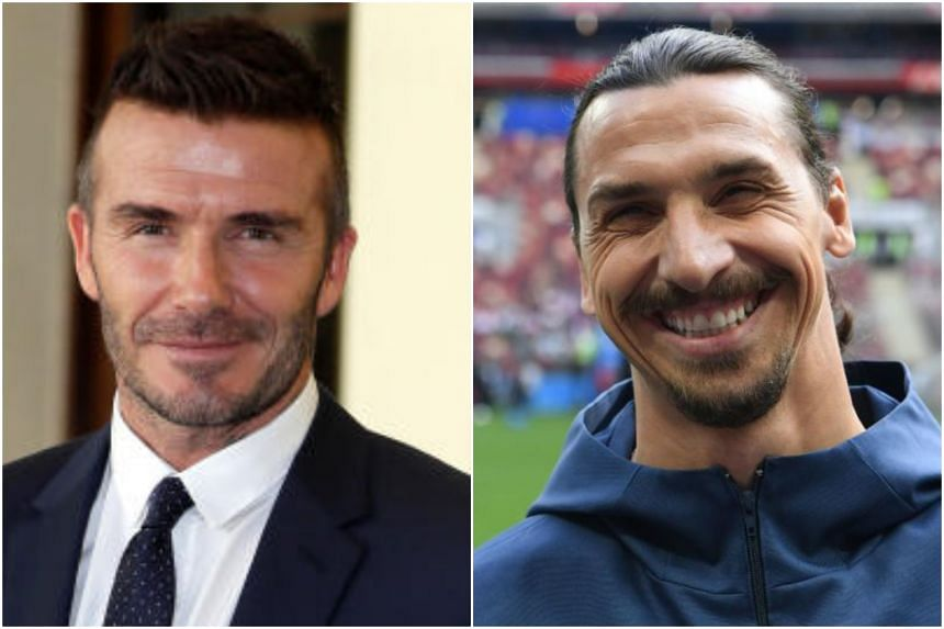 David Beckham offered to personally take Zlatan Ibrahimovic to Ikea to buy items for his new mansion in Los Angeles if Sweden wins.