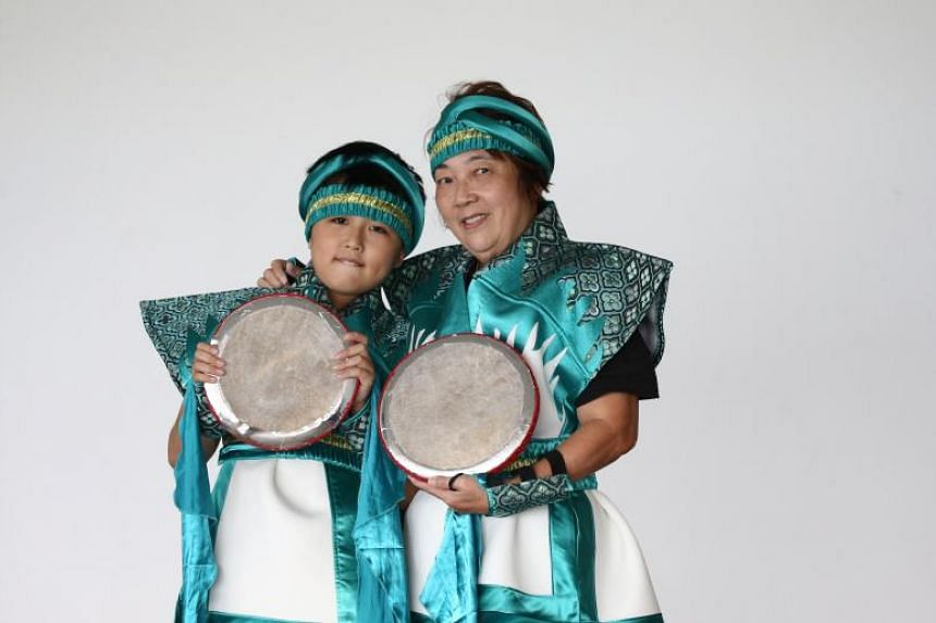 Kyler Toh, 11, and his grandmother Madam Irene Chooi, 66, will be performing for the first time together in the National Day Parade.