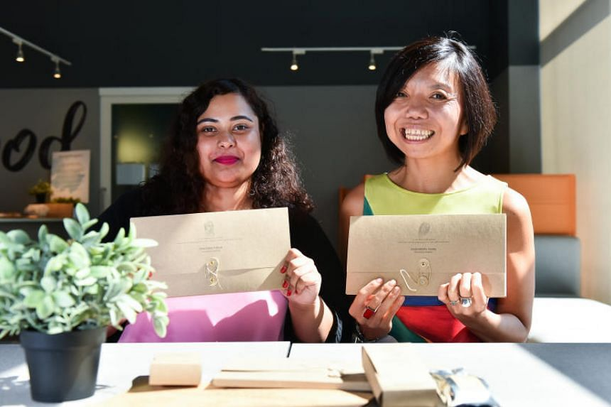 Mental health advocate Nawira Baig (left) and her boss Anthea Ong, founder of social enterprise Hush Teabar.