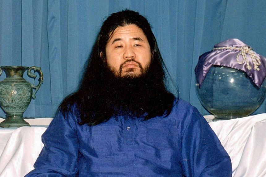 Japan hanged Shoko Asahara (pictured) on July 6 and six other members of the Aum Shinrikyo cult, which killed 13 people in an attack that shattered the country's myth of public safety.