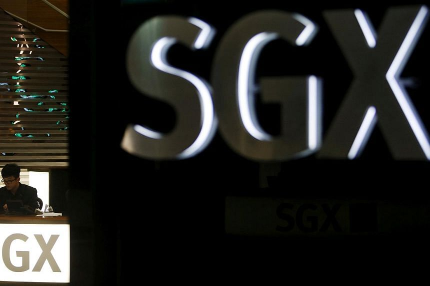 The SGX centre. Property and banking shares went down after news of higher Additional Buyer's Stamp Duty rates were announced, on July 6, 2018.