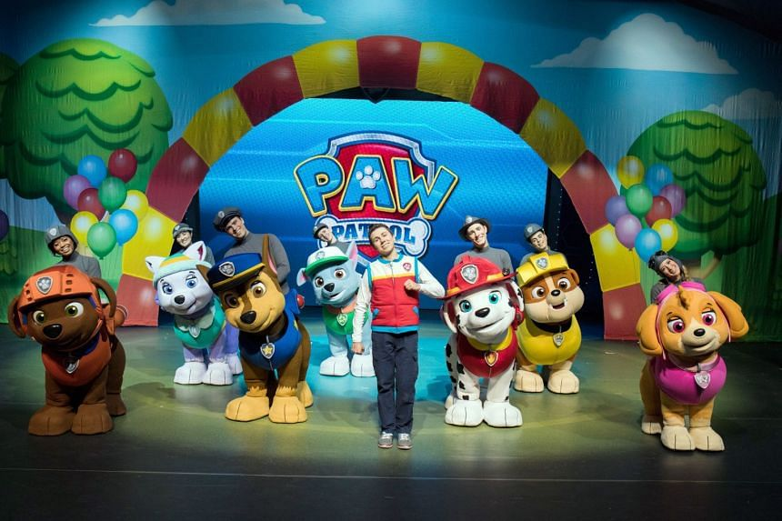VStar Entertainment Group is the production company behind a live tour of Paw Patrol (above).