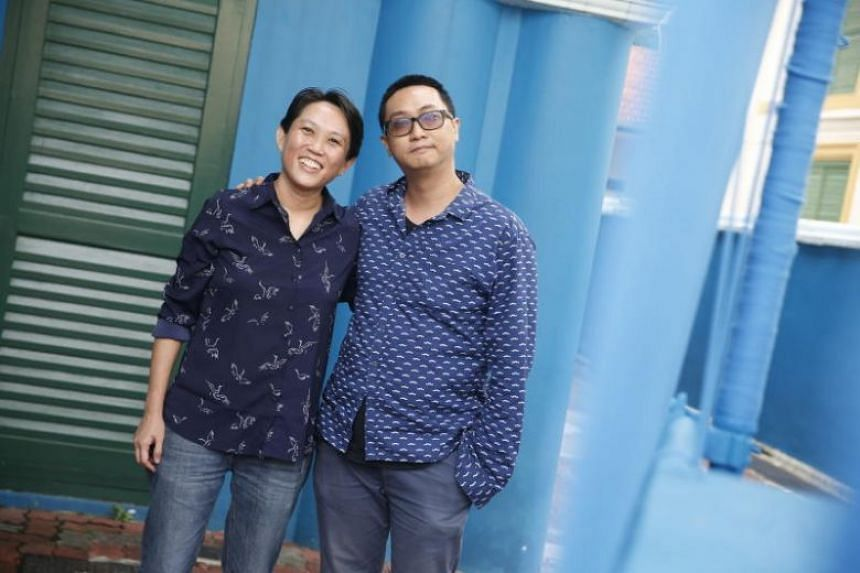 Founder of a not-for-profit arts group Felicia Low (left) and fine arts lecturer Woon Tien Wei are among those who are vying to be Nominated MPs