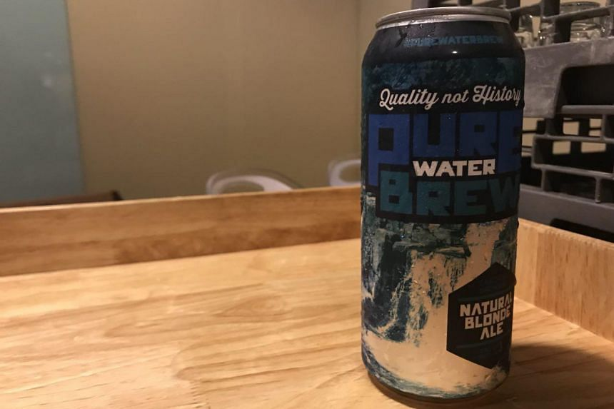 Pure Water Brew, a beer from the United States made using recycled water.