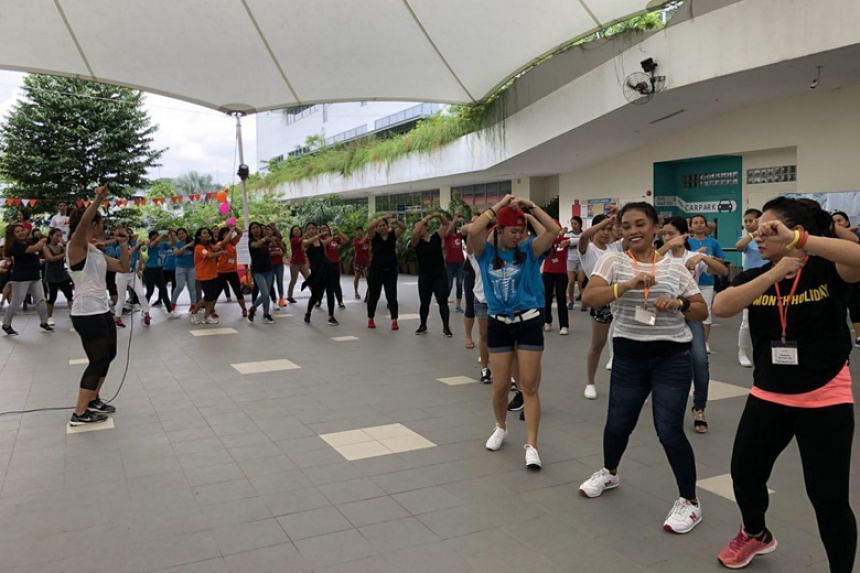 The inaugural Sports Day for domestic workers was held at the United World College Campus on July 8, 2018.