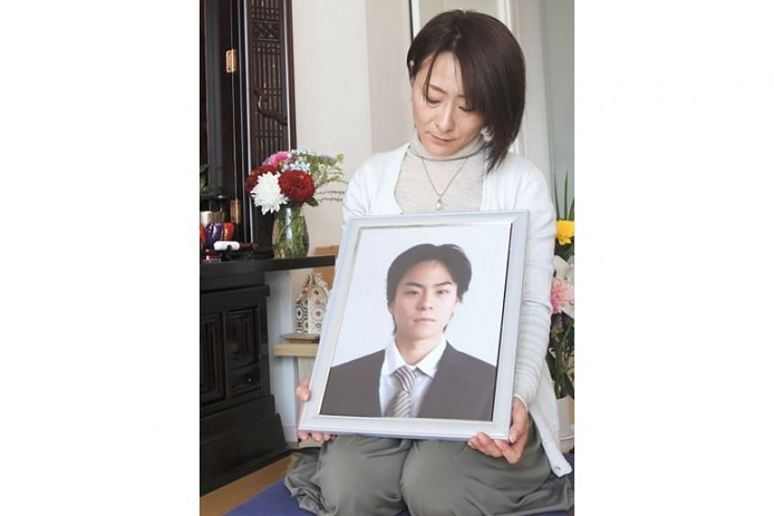 Mrs Kazumi Maeda said her son Hayato had been gradually driven to his death. He had endured harsh rebukes from his superiors and chronically long hours after joining Japanese firm Goncharoff in 2014.