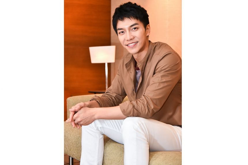 Multi-talented Lee Seung-gi also hosts variety programme All The Butlers and the recently released reality TV show Produce 48. He hopes to release new music next year.