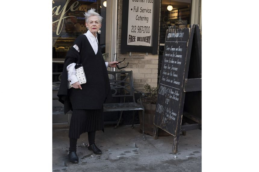 Lyn Slater, 64, is a professor at Fordham University with side gigs as a model and blogger.