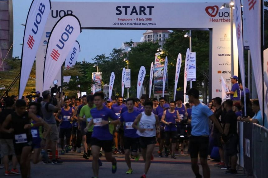 More than 17,000 people across the region, including in Singapore, Malaysia, Indonesia, China, Hong Kong and Thailand, participated in the UOB Heartbeat Run/Walk on July 8, 2018.