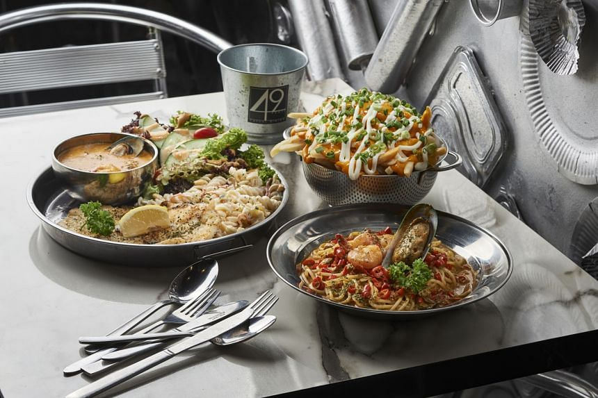 The dishes at 49 Seats are hearty with a touch of firepower.