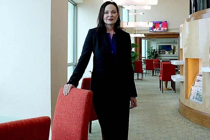 MS JENNIFER FOX, Millennium & Copthorne's new group chief executive.
