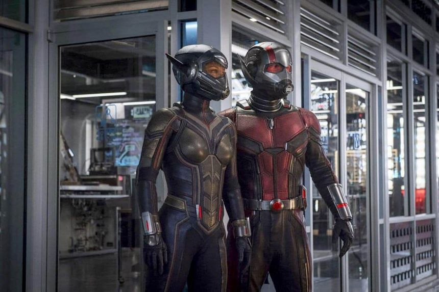 Evangeline Lilly and Paul Rudd star in Ant-Man and the Wasp, which logged in US$76 million in ticket sales in North America.