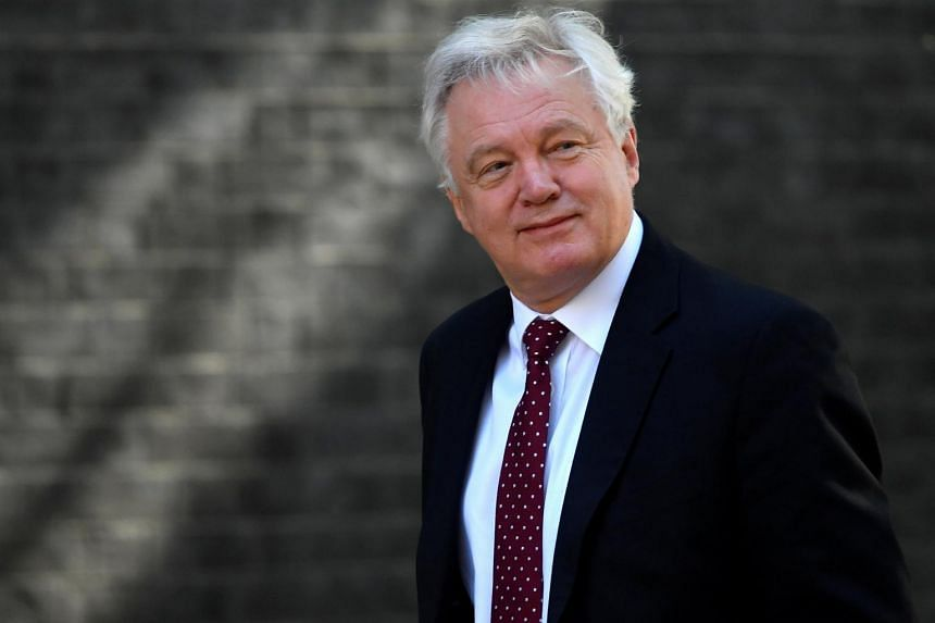 British Brexit Secretary David Davis has resigned, effective immediately, his office said on Sunday (July 8).