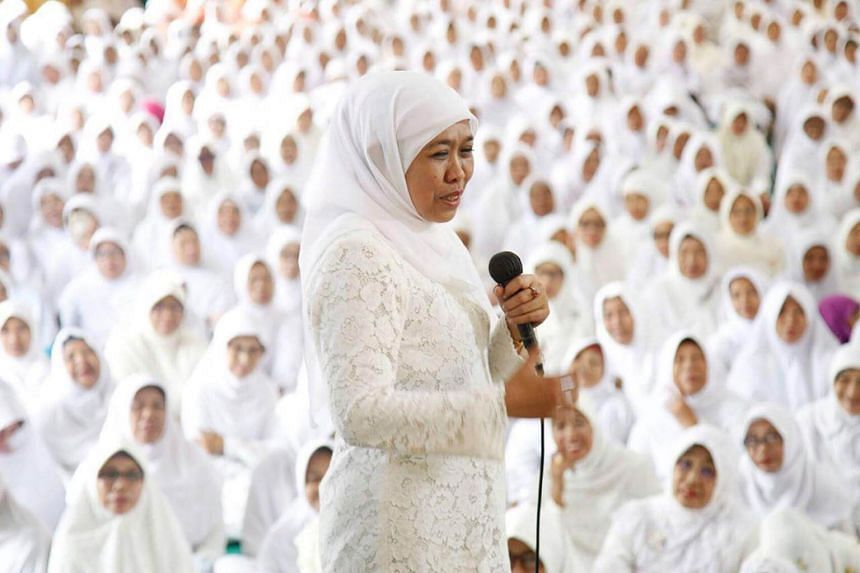 The most notable of the newly elected women is Ms Khofifah Indar Parawansa, who will become the province's first female governor on her third attempt.