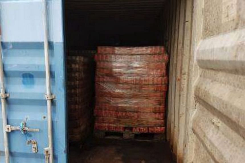 A container of 2,700 cartons of duty-unpaid beer meant for export was swopped with soft drinks and mineral water before it was attempted to be exported out of Singapore.