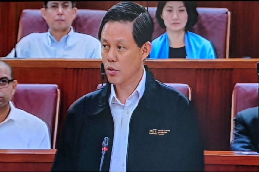 Minister for Trade and Industry Chan Chun Sing said Singapore's greatest concern is the impact from an escalation of the trade conflict into a vicious cycle of tit-for-tat measures between major economies.