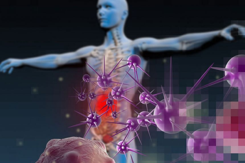 3D image of a human body fighting against a disease. PHOTO: ISTOCK