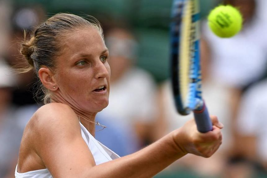 Karolina Pliskova was the highest-ranked player to reach the fourth round after a first week of upsets, but lost to Kiki Bertens in their fourth round match.